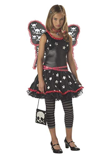 Strangeling Skulls and Stars Tween Costume