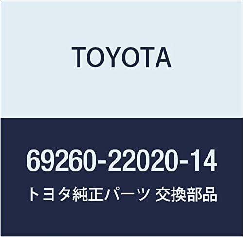 Genuine Toyota 69260-22020-14 Window Regulator Handle Assembly