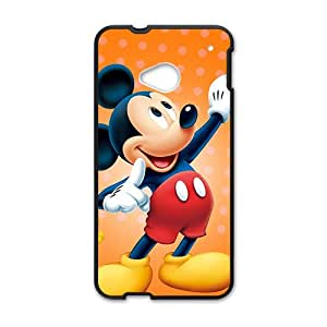DASHUJUA Classic Mickey Mouse fashion Cell Phone Case for HTC One M7