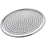 "Browne (575351) 11"" Perforated Aluminum Pizza Tray"