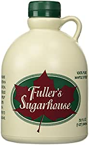 Fuller's Sugarhouse Pure New Hampshire Maple Syrup-Grade A, Amber Rich Taste- 1 Quart ( 32 oz.)