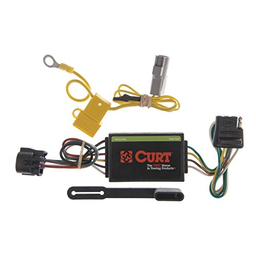 CURT 55367 Vehicle-Side Custom 4-Pin Trailer Wiring Harness for Select Toyota Tundra