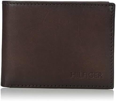 Tommy Hilfiger Men's Bergen Passcase Billfold Wallet
