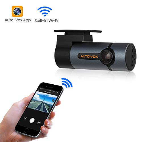 Upgraded AUTO-VOX WiFi Dash Cam D6 Pro FHD 1080P Dashboard Camera Recorder Car Dash Camera with Super Night Vision, G-Sensor, WDR, Loop Recording, 300°Rotate - To Connect Trying To Wifi