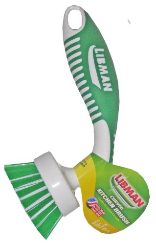 Libman Curved Kitchen Brush