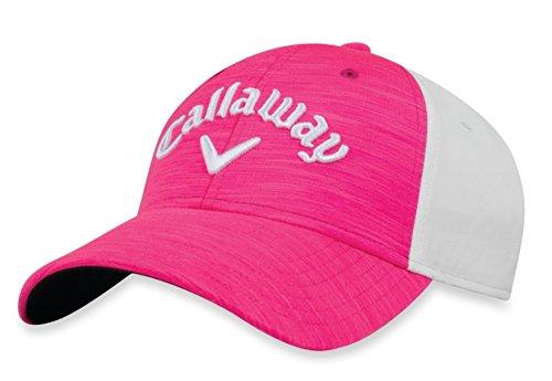 Callaway Golf 2018 Heather Adjustable Hat, Pink/ - Golf For Hats Women Callaway