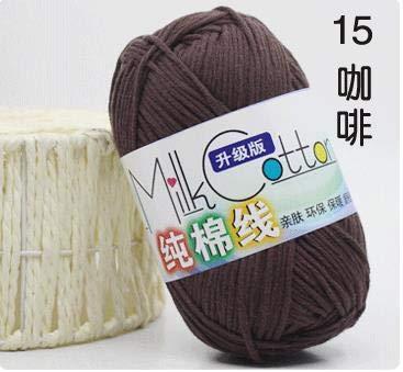 Eyebrow Eyelash Brush 10pcs 100 Cotton Yarn Crochet Soft Warm Baby