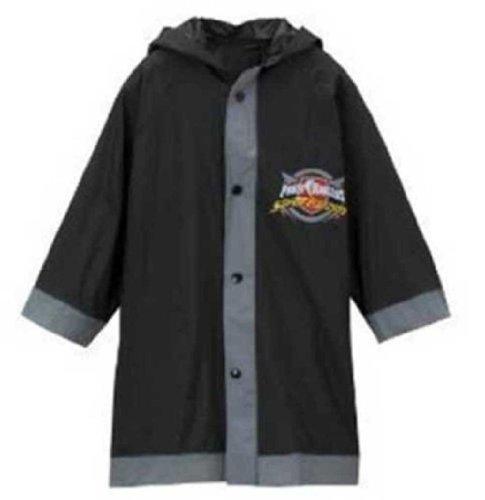 Power Rangers Boy's Black Rain Slicker - Size Small 2/3