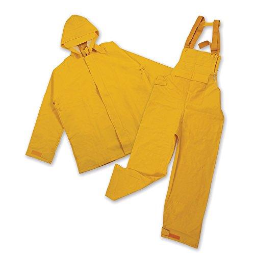 Heavy Duty Bibs (Pro Rainer Industrial Commercial Rainsuit (L))