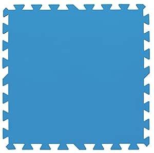 Tapiz de Suelo de Goma Bestway 50x50 cm (Azul): Amazon.es: Jardín