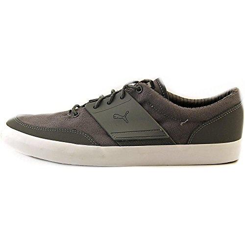 Puma El Ace 4 rayas zapatilla de deporte Steel Gray-Black