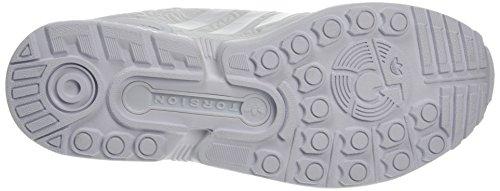 adidas Herren Zx Flux Low-Top Weiß (Ftwr White/Ftwr White/Core Black)