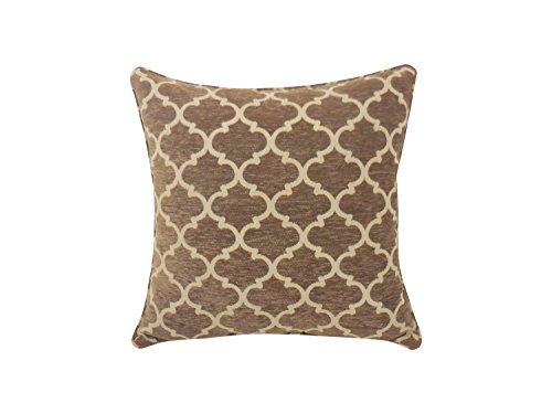 Arlee Sandglass Chenille Geometric Toss Pillow, (Arlee Pillow)