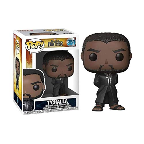 Funko Pop! Marvel Black Panther - T Challa #351 Bobble-Head Vinyl Figure