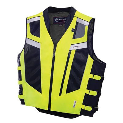 - Olympia Unisex-Adult Blaze Vest Neon Yellow Medium/Large