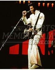 Elvis Presley on stage singing 8x10 11x14 16x20 photo 055 - Size 16x20