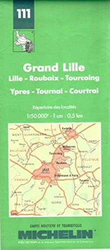 Michelin Map: Grand Lille (Michelin Maps) by Michelin Travel Publications (1995 04 06)