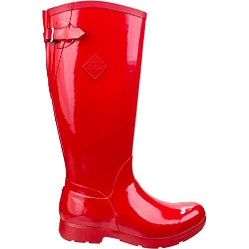 Muck Alto Bergen Rojo Agua Mujer Botas De Boots qwwzv