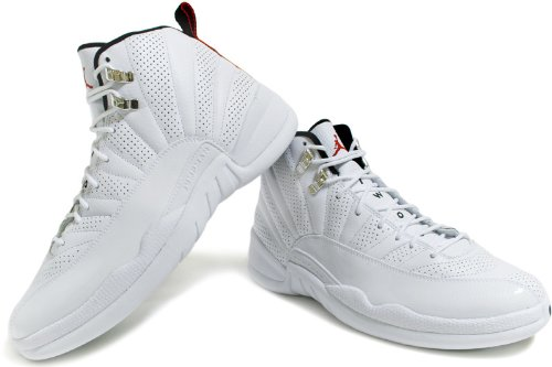 huge selection of 47190 3f1d9 Amazon.com   Jordan Nike Air 12 Retro XII Rising Sun Mens Basketball Shoes  130690-163   Basketball