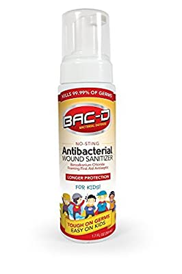 BAC-D Wound Sanitizer - Kids, 1.7oz