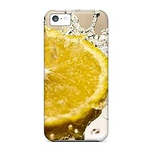New Iphone 5c Cases Covers Casing(lemon Splash)
