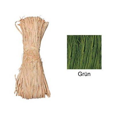 Naturbast, 50g Bündel, Grün PREISHIT [Spielzeug]
