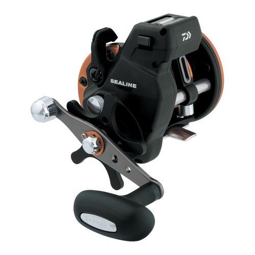 Daiwa SG57LC3B Sealine SG-3B Linecounter Reel, 6.1: Gear Ratio, 3BB Bearings, 20 lb Max Drag, Right Hand - Daiwa Bearings