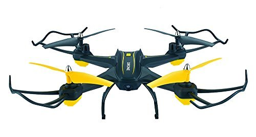 ASGO S6 RC Drone 2.4GHz 2MP HD Camera WiFi FPV 3D VR Mode Quadcopter with LED Lights from ASGO