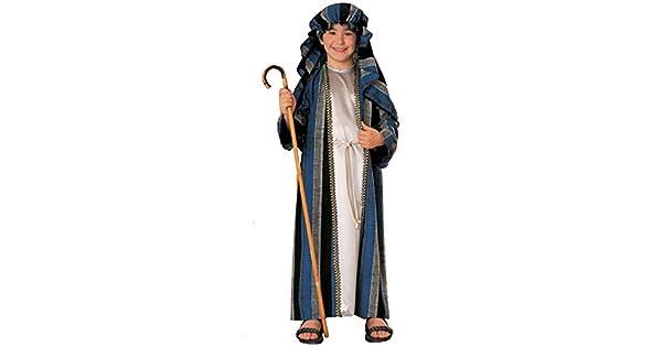 Amazon.com: Pastor Deluxe Kids Costume, bebé mayor (de uno a ...