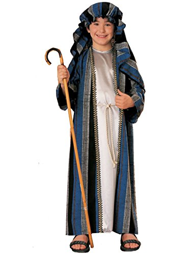 Shepherd Costume For Kids (Rubie's Costume Shepherd Child Costume, Large)
