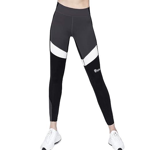 zxwZXW Pantalones de Yoga súper elásticos Atractivos para Mujeres ...