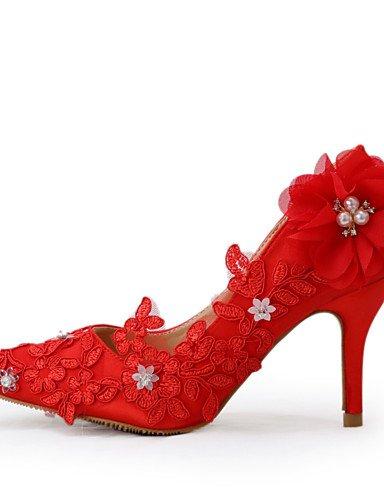 Rojo eu39 eu39 uk6 boda 3 4in Fiesta de Tacones Tacones 3 cn39 Zapatos Boda us8 3in 3 cn39 Vestido uk6 3in Mujer y 3 Noche 4in uk6 us8 3in 3 cn39 eu39 3 ZQ 4in us8 4xTqvFE