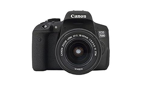 Canon EOS 750D + EF-S 18-55 IS STM Juego de cámara SLR 24,2 MP ...