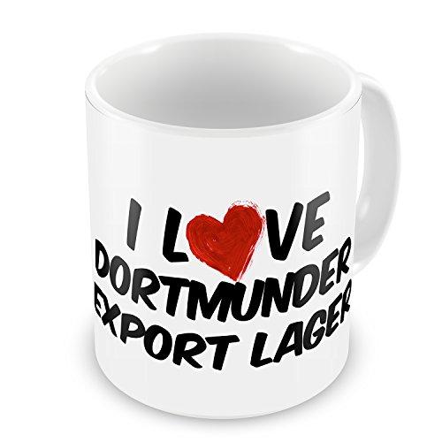 Coffee Mug I Love Dortmunder Export Lager Beer - ()