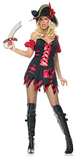 [Treasure Hunt Pirate Adult Costume - X-Large] (Leg Avenue Treasure Hunt Pirate Costume)