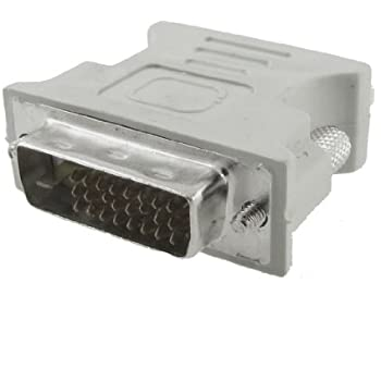 DVI-D Male to VGA Female Adapter Converter Connector for LCD HDTV