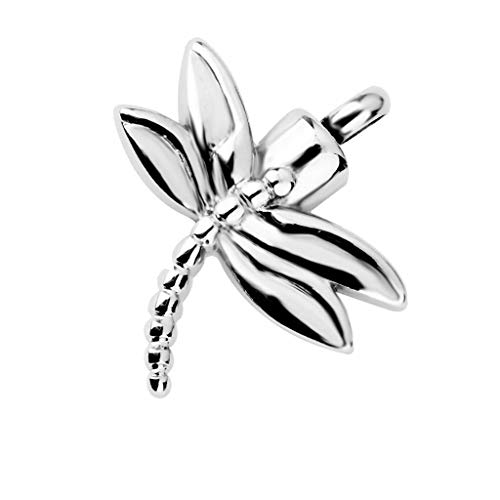 Dragonfly Cremation Jewelry Steel Memorial Pendant Urn Ash Holder Locket Necklace Jewelry Crafting Key Chain Bracelet Pendants Accessories Best
