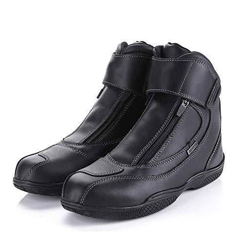 MOTUO Wasserdicht Motorradstiefel aus Leder Winddicht Motorrad Stiefel Tourenstiefel Rider Motocross Schuhe für Damen…