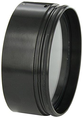 "RAB Lighting HH1B H System Hood, Aluminum, 5-5/8"" Diameter x 2-1/4"" Height, Black"