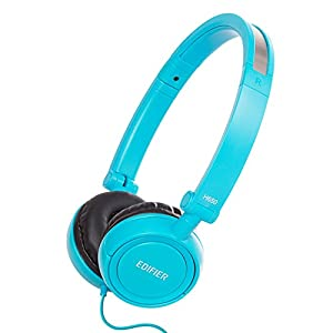 Edifier H650 Hi-Fi On-Ear Headphones - Noise-isolating Foldable and Lightweight Headphone - Fit Adults and Kids - Blue