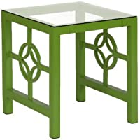 Modern Medallion Metal Living Room Table- Cocktail Table (Coffee Table) / End Table