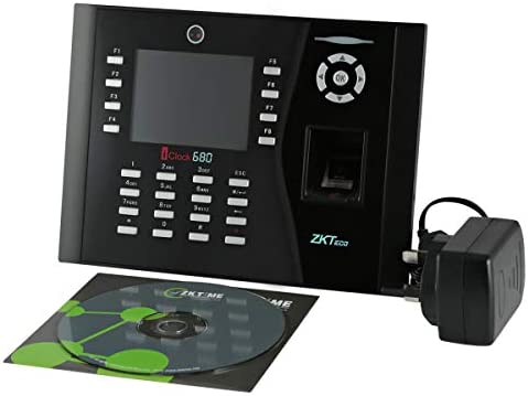 ZKT Finger Print Time Attendance and Access Control - iClock 680