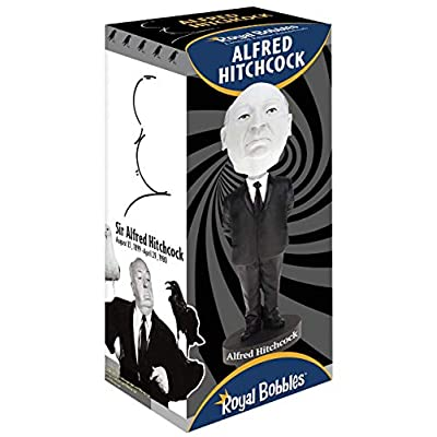 Royal Bobbles Alfred Hitchcock Bobblehead - Limited Edition Black & White Version: Toys & Games