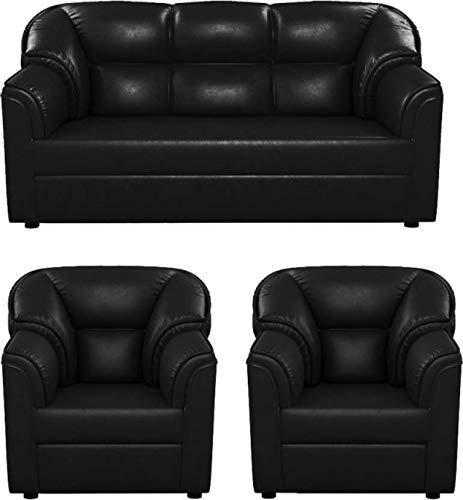 Westido Manhattan 3+1+1 Sofa Set  Black