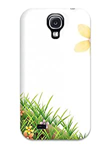Hot Animated Flower First Grade Tpu Phone Case For Galaxy S4 Case Cover