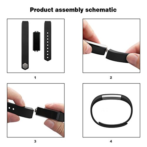 SHOPUS   AK for Fitbit Alta Bands, Replacement Bands for Fitbit Alta