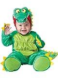 InCharacter Baby's Goofy Gator Costume, Green, Large