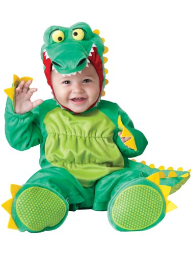 InCharacter Baby's Goofy Gator Costume, Green, Large -