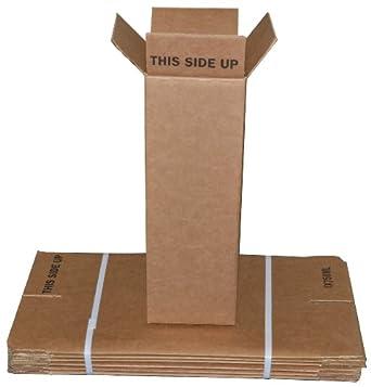Amazon.com: 1 Botella de vino/champán Cajas de envío (6 ...