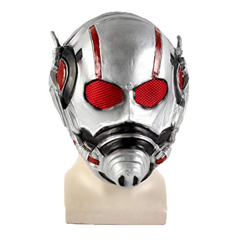 Super Hero Ant-Man Cos 3D Mask Halloween Funny ()